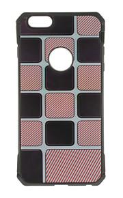 Skal Mönster Flise TPU Mjuk Fallet täcker för Apple iPhone 7 Plus / iPhone 7 / iPhone 6s Plus/6 Plus / iPhone 6s/6 / iPhone SE/5s/5