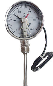 WSS-411 Radial Electric Contact Bimetal Thermometer