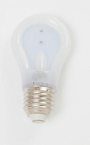 6W E26/E27 LED-globepærer A60(A19) 30 SMD 3020 600 lm Varm hvit / Kjølig hvit Dekorativ AC 220-240 V 1 stk.
