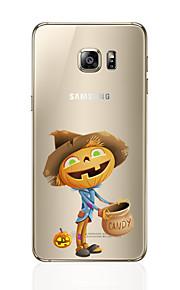 För Ultratunt fodral Skal fodral Other Mjukt TPU Samsung S7 edge / S7 / S6 edge plus / S6 edge / S6