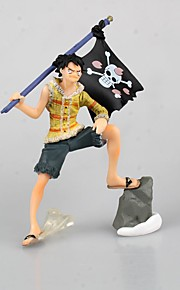 One Piece Monkey D. Luffy PVC 9cm Anime Action Figures model Toys Doll Toy