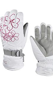 Full Finger / Rękawiczki zimowe Damskie Keep Warm / Wodoodporny Kolarstwo / Wspinaczka / Narciarstwo / Motocykl / Snowboard PU