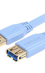 Choseal usb3.0a / m-câble / f grande vitesse