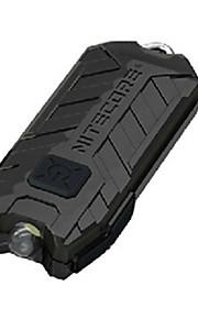 Nitecore® פנס LED LED 45 Lumens 2 מצב LED כפתור סוללת ליתיום Dimmable / ניתן לטעינה מחדש / גודל קומפקטימחנאות/צעידות/טיולי מערות / שימוש