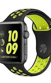 cinturino in sostituzione di sport del silicone Nike per orologio mela 42 millimetri 38 millimetri