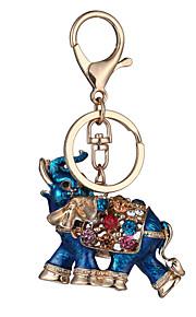 as novas quentes genuínos gota carro diamante chaveiro ornamentos saco elefante meninas tailândia pequeno pingente de presentes