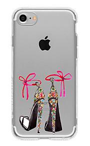 For Etui iPhone 7 / Etui iPhone 7 Plus / Etui iPhone 6 Mønster Etui Bakdeksel Etui Sexy dame Myk TPU AppleiPhone 7 Plus / iPhone 7 /