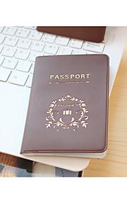 Viaje Billetera y Cartera Almacenamiento para Viaje Impermeable / A prueba de polvo / Portable Cuero Sintético