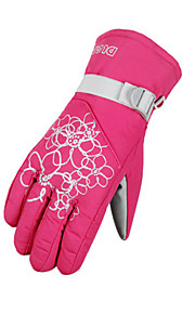 Full-finger Gloves / Winter Gloves Women's Keep Warm / Waterproof Cycling/Bike / Climbing / Ski & Snowboard / Motorbike / Snowboarding PU