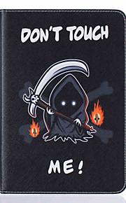 Für Kreditkartenfächer / mit Halterung / Flipbare Hülle / Muster Hülle Handyhülle für das ganze Handy Hülle Totenkopf Hart PU - Leder
