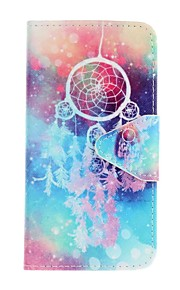 EFORCASE Color Wind Chimes Painting PU Phone Case for Huawei P9lite P9 Honor 5C Honor 5A Y6 II
