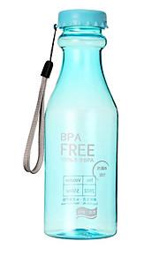 Viaje Botella y Vaso de Viaje Utensilios de Viaje para Comida y Bebida Portable / Con Sellado Plástico