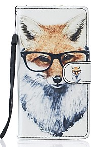 For Samsung Galaxy S7 S7 Edge Fox PU Leather Wallet S5 S6