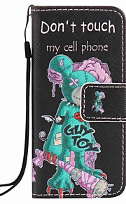 One - eyed Mouse Painting PU Phone Case for apple iTouch 5 6