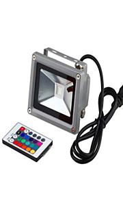 10w 85-265v 1,2 m amerikansk standard plug farverige fjernbetjening græsplæne lampe