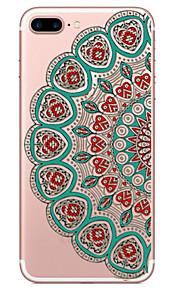 Per Custodia iPhone 7 / Custodia iPhone 6 / Custodia iPhone 5 Transparente / Decorazioni in rilievo / Fantasia/disegno CustodiaCustodia
