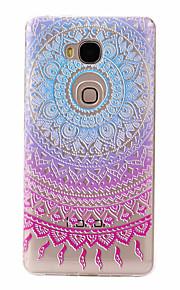 For Huawei Case Ultra-thin / Pattern Case Back Cover Case Color Gradient Soft TPU Huawei Huawei Y635 / Huawei Honor 5X