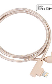 JDB® USB 3.0 Trenzado Cable Para Apple 100 cm Nailon