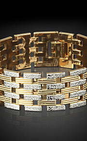 Bracelet/Chain Bracelets Gold Plated Circle Fashionable Daily / Casual Jewelry Gift Coppery1pc