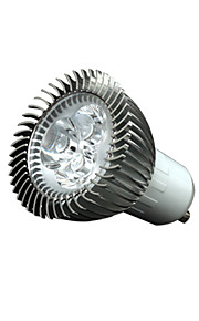 3W GU10 LED-spotpærer 3 200-250 lm Varm hvit Dimbar / Dekorativ AC110 / AC220 V 10 stk.