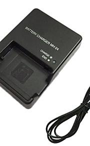 EL14 carregador de bateria e cabo do carregador da UE para Nikon EN-EL14 p7700 D3100 D3200 D5300 en-EL14 el14a