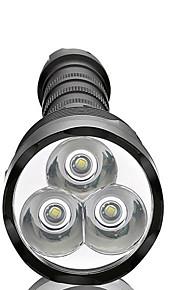 Verlichting LED-Zaklampen LED 3800 Lumens 5 Mode LED 18650 / AAA Dimbaar / Waterdicht / Hoog vermogen / Super Light