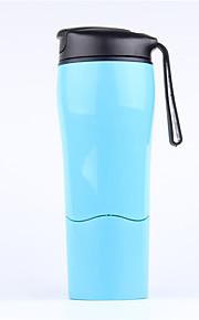 1 Pça. Canecas de Viagem / copo Portátil para Talheres e Copos de Viagem Plástico-Branco Preto Vermelho Azul
