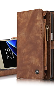 Per A portafoglio / Porta-carte di credito / Con supporto / Con chiusura magnetica Custodia Integrale Custodia Tinta unita ResistenteVera