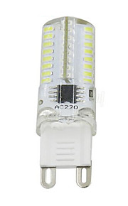 5W G9 2-pins LED-lampen T 64 SMD 3014 380 lm Warm wit Koel wit Dimbaar AC110 AC220 V 1 stuks