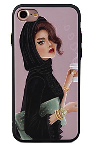 For Mønster Etui Bakdeksel Etui Sexy dame Myk TPU for Apple iPhone 7 Plus / iPhone 7 / iPhone 6s Plus/6 Plus / iPhone 6s/6