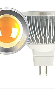 5W LED-spotpærer MR16 1 COB 600 lm Varm hvit / Kjølig hvit DC 12 V 2 stk.