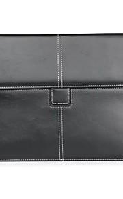 För Korthållare fodral Heltäckande fodral Enfärgat Mjukt Äkta läder för Apple iPad Mini 4 / iPad Mini 3/2/1