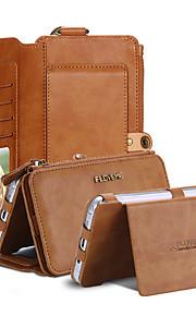 Per Samsung Galaxy Note A portafoglio / Con chiusura magnetica Custodia Integrale Custodia Tinta unita Vera pelle Samsung Note 5