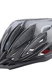 여성용 / 남성용 / 남여 공용 자전거 헬멧 24 통풍구 싸이클링 사이클링 / 산악 사이클링 / 도로 사이클링 / 레크리에이션 사이클링 원 사이즈 PC / EPS / 탄소 섬유 +EPS 블랙