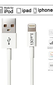 USB 2.0 Normal Cable Para Apple 100 cm TPE