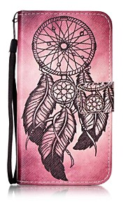 용 카드 홀더 / 지갑 / 스탠드 / 플립 / 패턴 케이스 풀 바디 케이스 포수 드림 하드 인조 가죽 용 HTC HTC Desire 626
