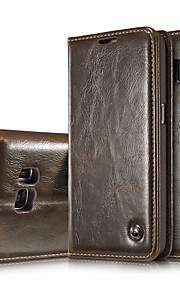Per Samsung Galaxy S7 Edge Porta-carte di credito / A portafoglio / Con supporto / Con chiusura magnetica Custodia Integrale Custodia