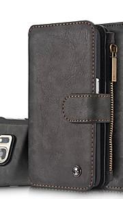 Per Samsung Galaxy Note A portafoglio / Porta-carte di credito / Con supporto / Con chiusura magnetica Custodia Integrale CustodiaTinta