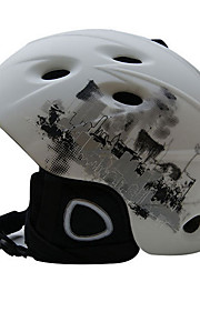 Helmet Unisex Sports Sports Helmet Red / Black Snow Helmet EPS / ABS Snow Sports
