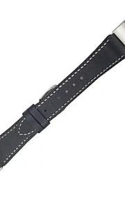 correa de cuero de reemplazo para el deporte de la aptitud de seguimiento Fitbit carga 2