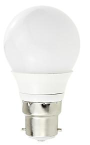 3W B22 LED-globepærer A80 6 COB 260 lm Varm hvit / Kjølig hvit Dekorativ V 1 stk.