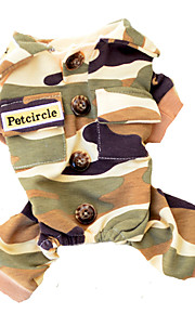 Hunde Sweatshirt Kamuflage Farve Hundetøj Forår/Vinter camouflage Casual/hverdag / Hold Varm