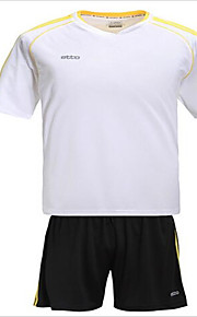 Sports Men's / Unisex Short Sleeve Soccer Clothing Sets/Suits Breathable / Quick Dry Racing / Football/SoccerM / L / XL / XXL / XXXL /