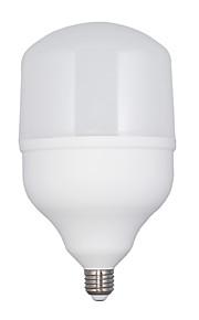 40W E26/E27 LED-globepærer T120 75 SMD 2835 3000 lm Varm hvit AC 220-240 V 1 stk.