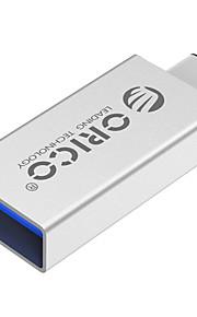 Orico CTA1 Aluminium Typ-c / m usb a / f OTG Adapter OTG USB3.0 Datentransfer-Silber