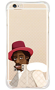 Para Antigolpes / Diseños Funda Cubierta Trasera Funda Dibujos Suave Silicona para AppleiPhone 6s Plus/6 Plus / iPhone 6s/6 / iPhone