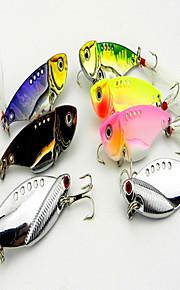 "7 pcs Hard Bait / Fishing Lures Hard Bait Assorted Colors 11 g/3/8 oz. Ounce mm/2-1/4"" inch,Hard Plastic Bait Casting / General Fishing"