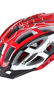 여성용 자전거 헬멧 N/A 통풍구 싸이클링 사이클링 산악 사이클링 도로 사이클링 원 사이즈 EPS+EPU 레드 핑크 블루