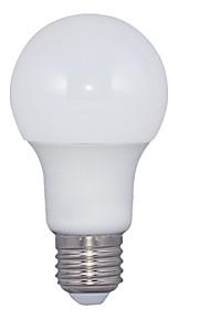 9W E26/E27 LED-globepærer A60(A19) 15 SMD 2835 700 lm Varm hvit AC 220-240 V 1 stk.