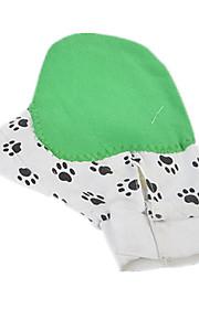 Kat / Hund Rengjøring Børster / Bad Kæledyr Pleieutstyr Massasje Grønn Stof / Gummi